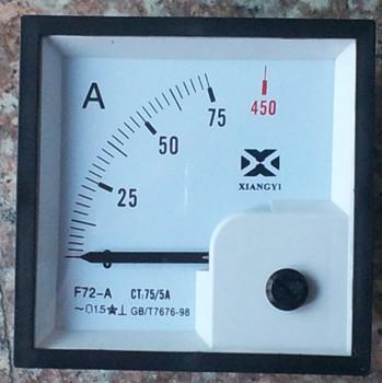 具有较高的精度,交直流电流表,电压表为 1.5级(特殊定货可做到1.