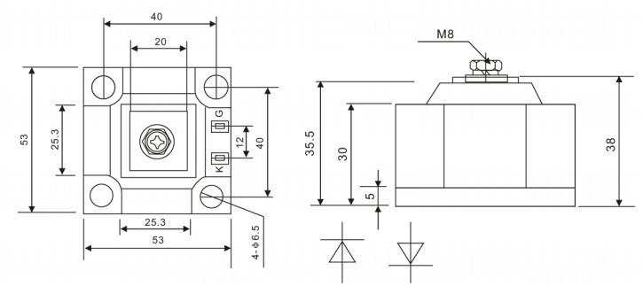 特规型整流管md300a1600v电焊机专用模块浙江销售