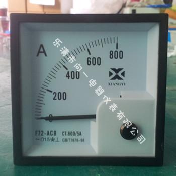 其中交流电流电压表为有效值测量电路