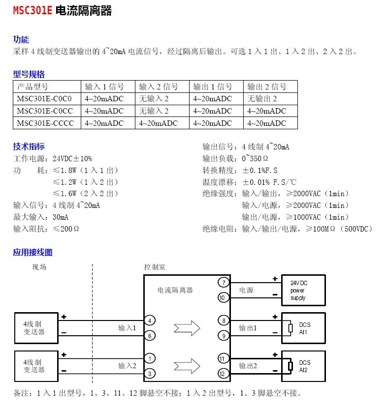 关键词:信号隔离器隔离器&nbsp