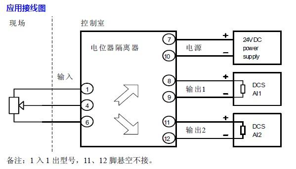 电位器变送隔离器