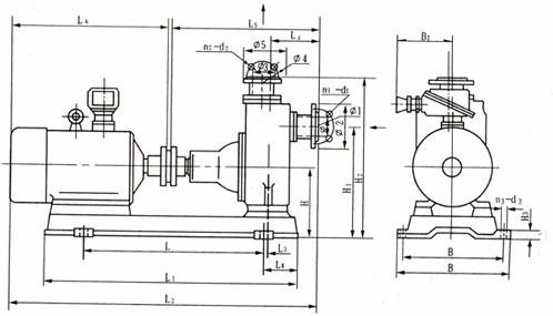 雪佛兰景程油泵电路图