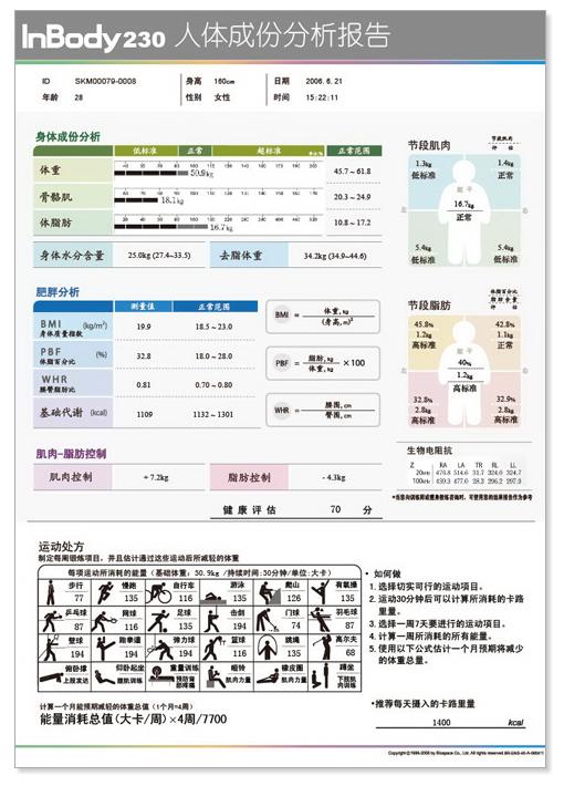 inbody370人体成分分析仪(专业型)