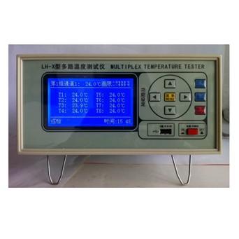 多路温度测试仪经过多路温度传感器(热电偶将被测点与工作端的温差