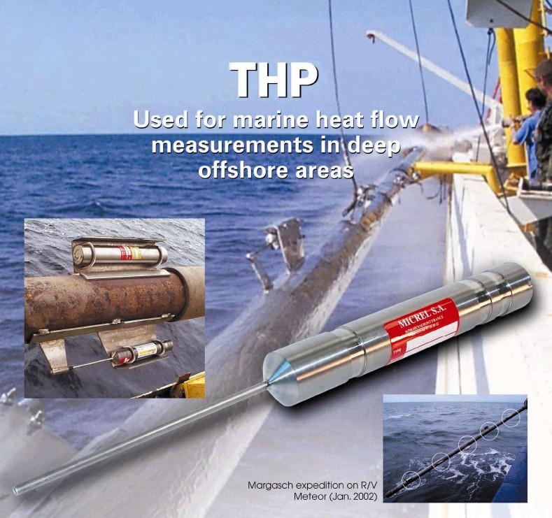 深海海底热流测量仪