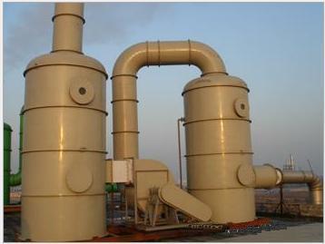 硫酸生产线废气处理设备-工业洗涤塔-广绿水循环喷淋