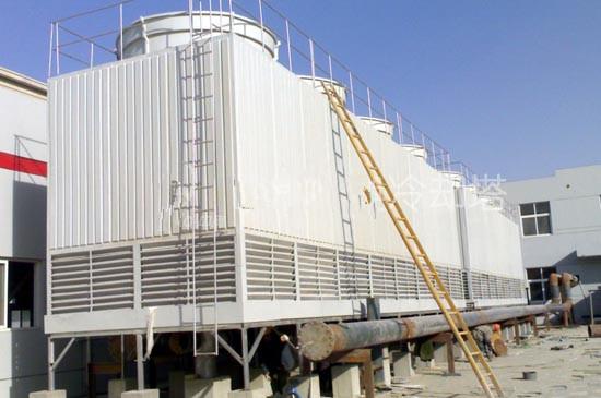 上海方形逆流式冷却塔安装厂家