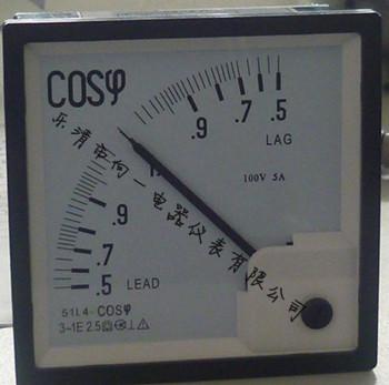 单相交流电路或电压对称负载平衡的三相交流电路中测量功率因数的
