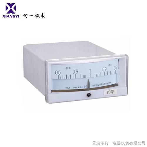 对称负载平衡的三相交流电路中测量功率因数的仪表