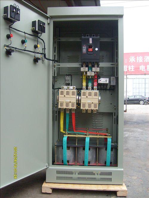 320kw频敏起动控制柜 水泵启动配电柜xqp4_上海宁飞