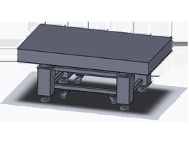 光学平台-真蜂窝气浮隔振光学平台