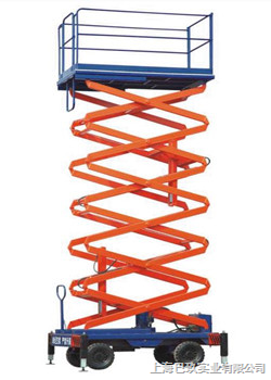 国产手推式剪叉型高空作业平台,自行式高空作业平台,移动液压升降平台品牌