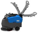 进口嘉得力折叠式洗地机,手推式洗地机,小型洗地机行情