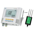 国产土壤温湿度(水分)记录仪使用,电子温湿度计,数显温湿度表市场价格