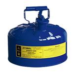 西斯贝尔5.0加仑蓝色工业安罐,易燃品防火安罐,防火安罐使用原理