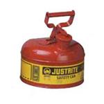 Justrite9.5LI类红色易燃液体安罐,工业安罐,防火安罐