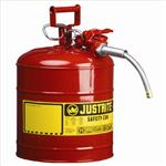 Justrite9.5LII类带软管易燃品钢制防火安储存罐,防火罐,西斯贝尔安罐