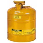 Justrite19LI类黄色钢制易燃液体安罐上海厂供应|现货促销
