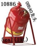 Justrite19L安架式实验室用安分装罐,易燃液体安罐,钢制安储存罐直销