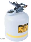 Justrite9.5L防腐蚀安罐,实验室用安分装罐,聚乙烯安罐技术参数