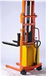 节能型国产半电动堆高车的型号, 半自动液压堆高车简介