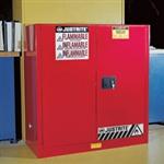 进口Justrite40加仑进口工业安柜,易燃品安柜,双层钢板防火柜现货