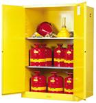 进口Justrite 90加仑防火防爆安全柜,8990201化学品安全柜,