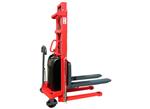 国产半电动堆高车的使用范围,半自动液压堆高车的使用方法