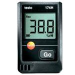 testo 174H温湿度记录仪,风速,温度,湿度,CO2,光照度,压差