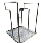 带扶手轮椅秤=300公斤称轮椅的电子秤