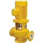 衬氟塑料管道泵,衬氟管道泵