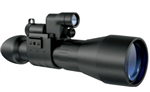 4.5x60大口径高倍数,脉冲星高清单筒红外夜视仪74091