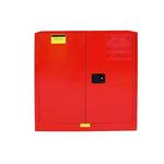国产30加仑红色可燃品防火安全柜,工业安全柜,弱腐蚀物品安全柜现货