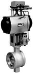 77/78-36200系列气动V形调节球阀