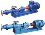 不锈钢单螺杆式浓浆泵