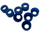 2ml蓝色聚丙烯卡口开口盖