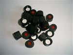 8-425黑色开孔螺纹盖 /2ml样品瓶开口盖