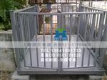 《江门固定式牲畜秤》2000千克猪笼秤,动物电子秤出厂价