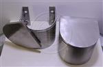 专业生产马蹄形沉降观测点保护罩,不锈钢沉降观测点保护罩价格,马蹄形保护罩厂家
