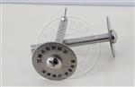 测绘专用沉降观测点标志,不锈钢沉降观测标志价格,伞形十字丝沉降观测标志价格