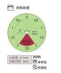 2928SB日本Mitutoyo三丰指针式十分表