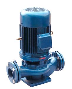 ISG立式管道离心泵 热水循环泵