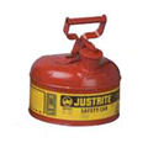 Justrite9.5LI类红色易燃液体安罐,工业安罐,防火安罐批发