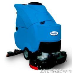 GT75进口嘉得力自走式洗地机,双刷洗地机,自动洗地机性价比