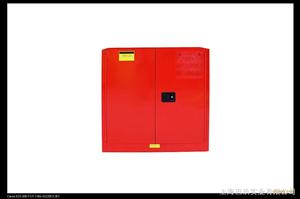 国产45加仑红色可燃品安全柜,化学品安全储存柜,工业安全柜使用方法