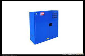 国产60加仑蓝色防腐蚀安柜,易燃物品储存柜,可燃物品安柜优惠