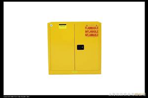 国产45加仑黄色易燃品安柜,可燃物品安柜,弱腐蚀物品安柜价格