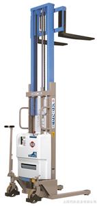 进口半电动堆高机材质,进口OPK-WD650-25半自动堆高机介绍