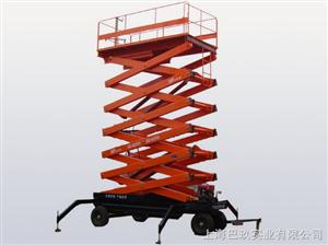 SJY 0.3-6国产移动液压升降平台,自走式高空作业平台,剪叉型高空作业平台行情