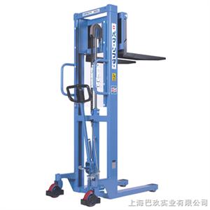 OPK-H500-15日本OPK进口手动液压堆高车,手动液压堆高车上海巴玖